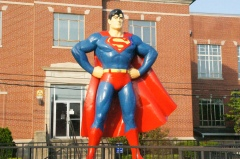 Larger than life Superman