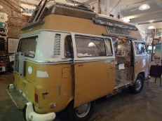Outside of VW Microbus
