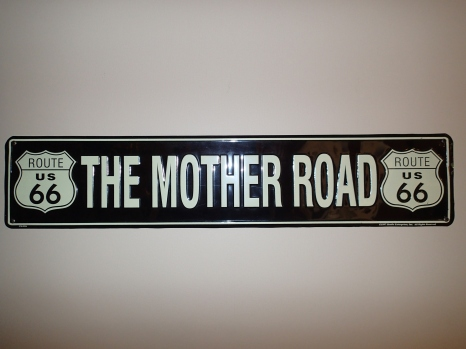 Mother Road Sign