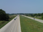 Interstate 55 from Route 66
