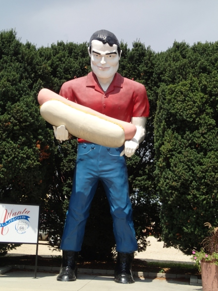 Hot Dog Muffler Man