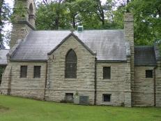 Church in Cemetary