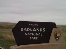Entering the Badlands