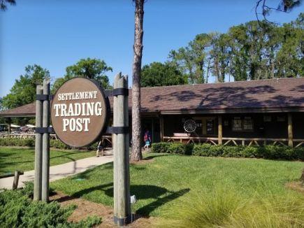 Settlement trading post